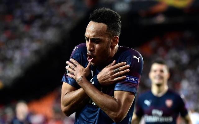 Pierre-Emerick Aubameyang hat beim FC Arsenal einen Vertrag bis 2021