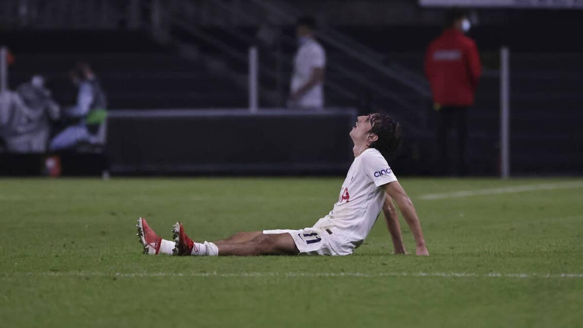 Bryan Gil und die Tottenham Hotspur verpatzten den Conference-League-Auftakt