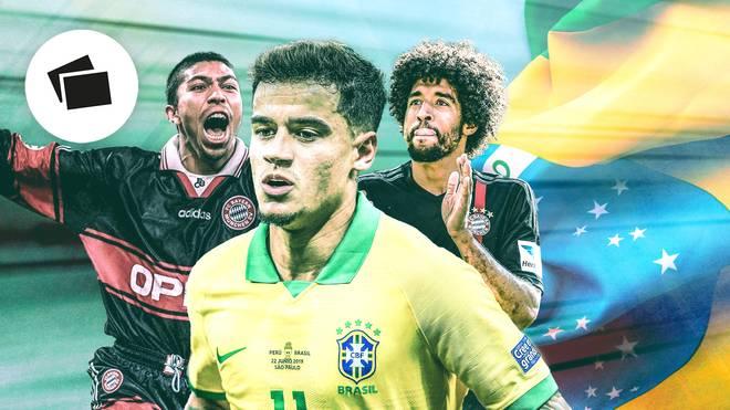 Elber, Dante und Co.: Philippe Coutinho reiht sich beim FC Bayern in eine namhafte Brasilien-Liste ein