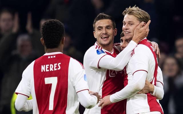 Frenkie de Jong, Ajax Amsterdam