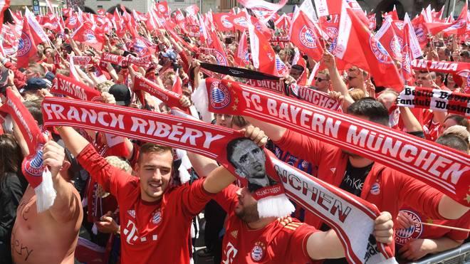 Viele Fans des FC Bayern München amüsierte die Stichelei gegen 1860