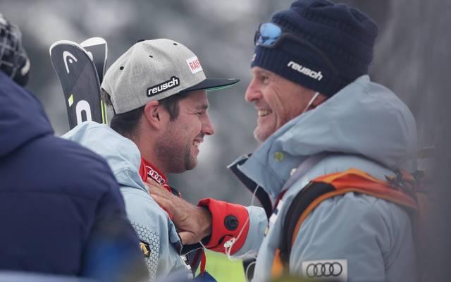 Ski alpin: Österreicher Andreas Evers neuer Speedtrainer im DSV , Andreas Evers (rechts) wird neuer Trainer der deutschen Abfahrer