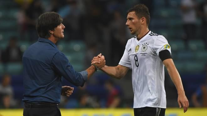 Joachim Löw hat eine hohe Meinung von Nationalspieler Leon Goretzka