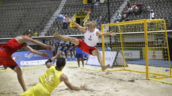 Beachhandball gehört zum Programm der World Games auf SPORT1