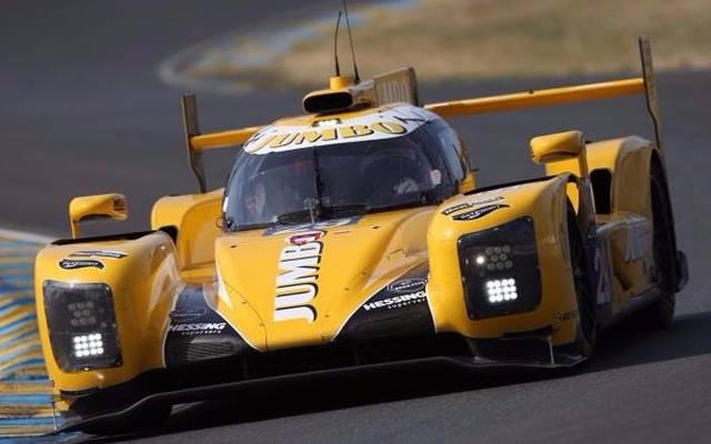 Mit über 340 km/h über die Landstraße: Der Dallara-Gibson in Le Mans