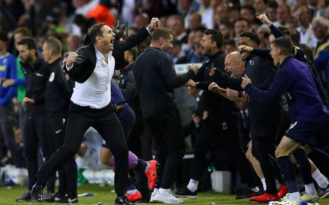 Frank Lampard (l.) feierte den erfolg gegen Leeds United voller Inbrunst