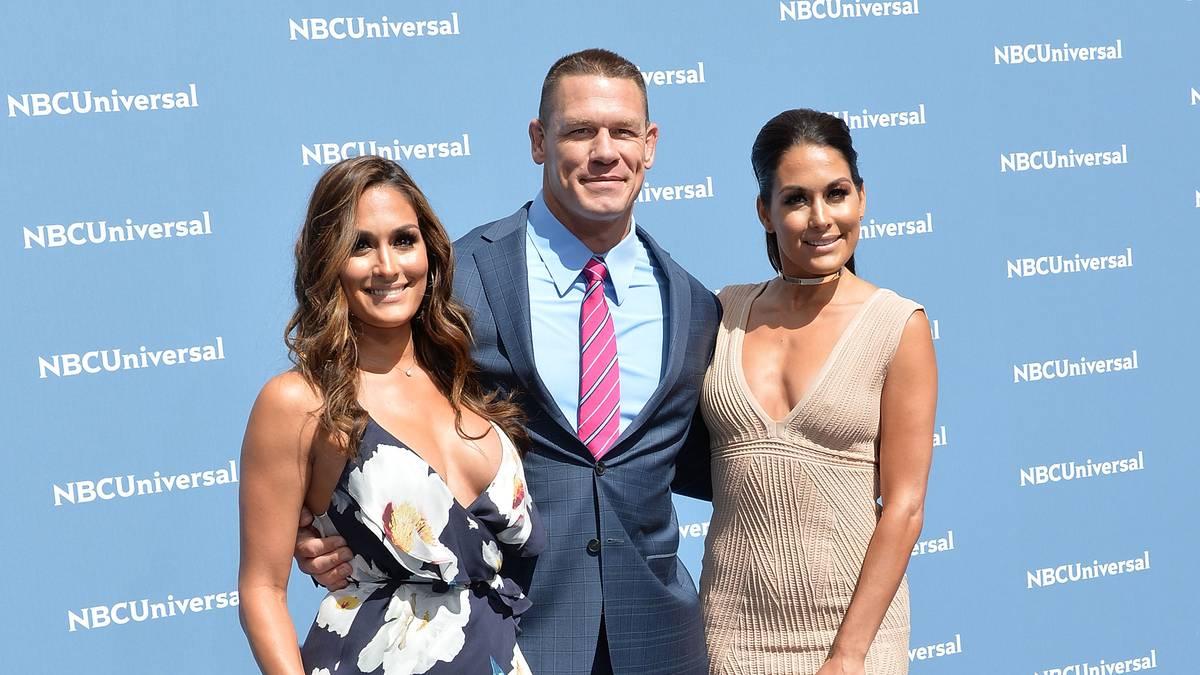 Nikki Bella (l.) und John Cena waren von 2012 bis 2018 ein Paar