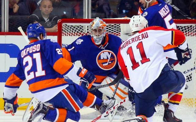 Thomas Greiss feierte mit den New York Islanders einen wichtigen Playoff-Sieg