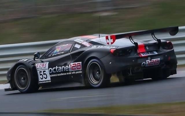 Der Octane-126-Ferrari fuhr eine wenig aussagekräftige Bestzeit