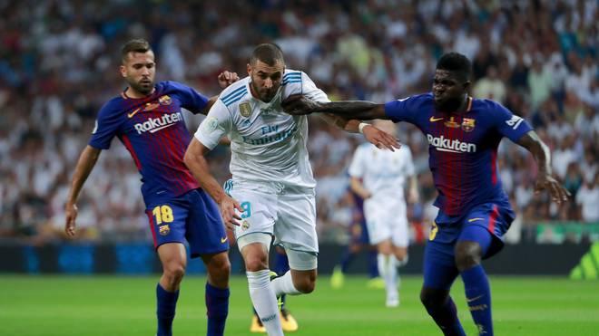 Real-Präsident Florentino Perez glaubt an den Verbleib des FC Barcelona in Spanien