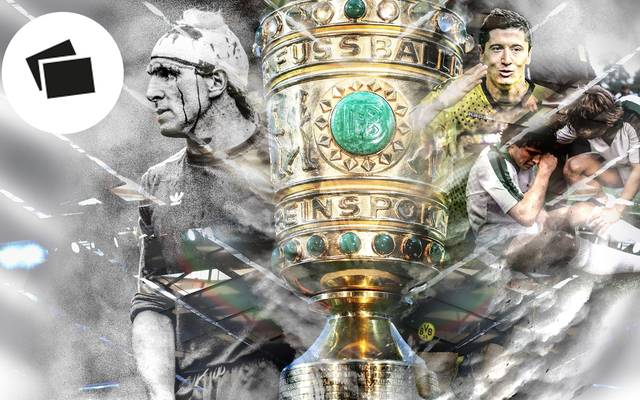 Das Finale des DFB-Pokals hat immer wieder für erstaunliche Geschichten gesorgt