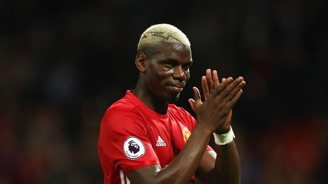 Paul Pogba blieb bei United bislang hinter den Erwartungen zurück