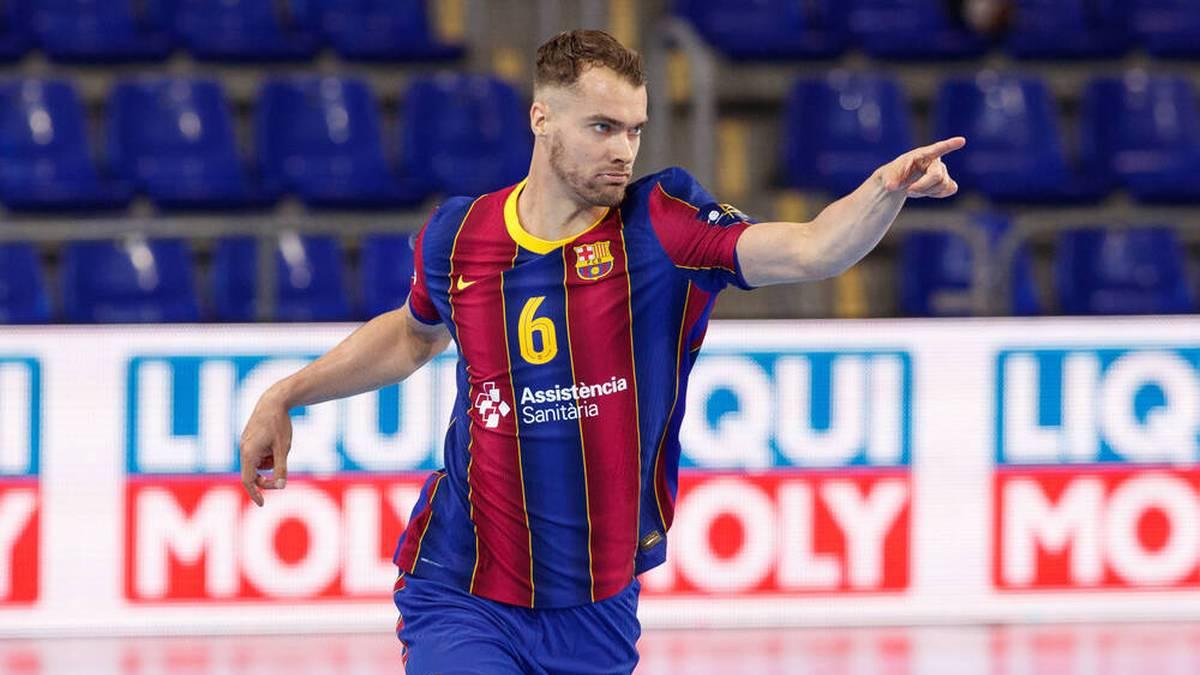 Casper Mortensen spielte zuletzt für den FC Barcelona