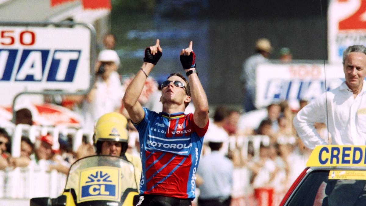 Lance Armstrong dachte bei seinem Etappensieg 1995 an den toten Fabio Casartelli