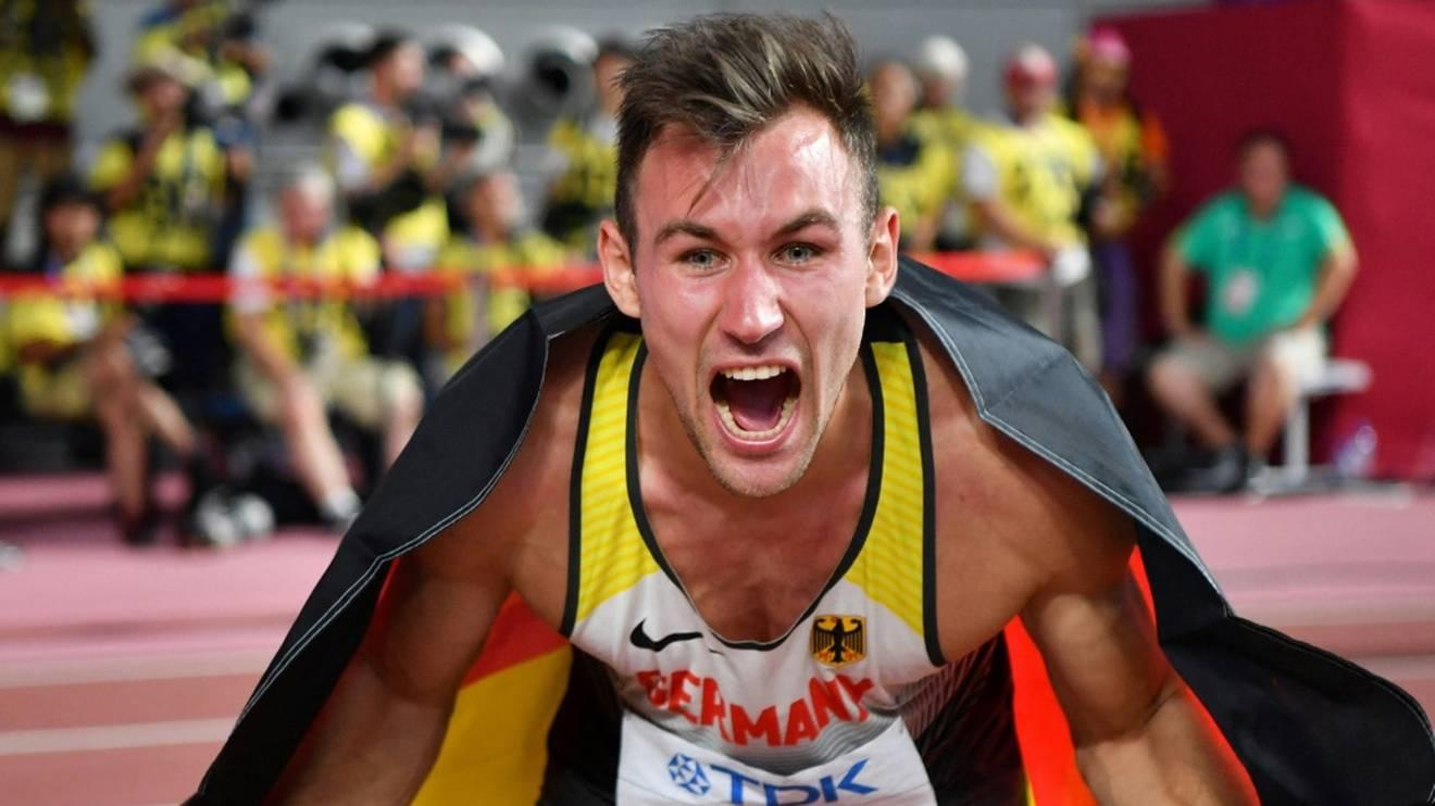 Niklas Kaul lässt sich keinen Druck machen