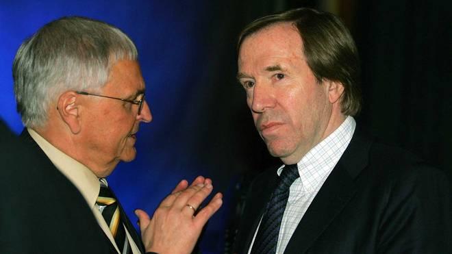 Theo Zwanziger (l.) und Günter Netzer werden sich wohl vor Gericht sehen