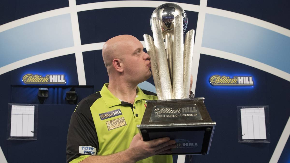 Michael van Gerwen, Darts-WM