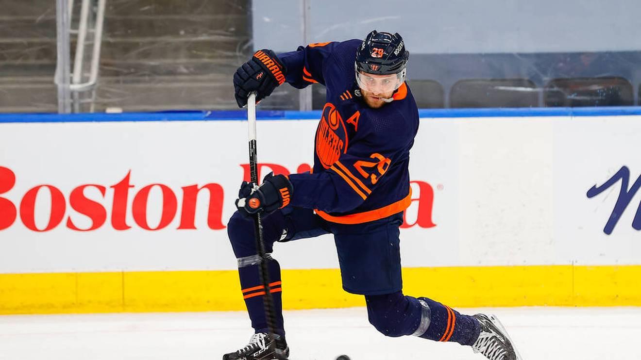 Leon Draisaitl bleibt beim Sieg der Edmonton Oilers ohne Scorerpunkt