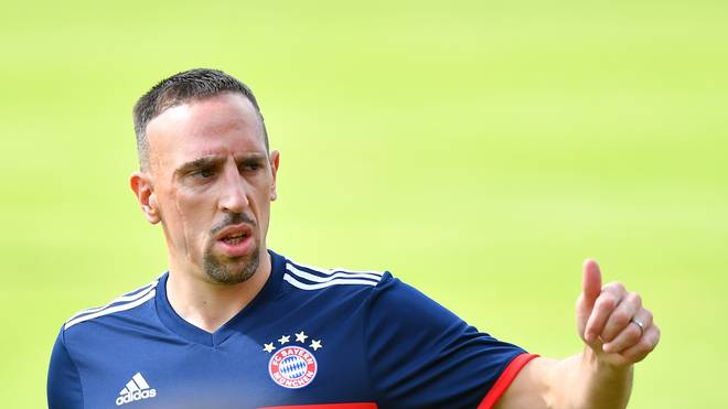 Franck Ribery hofft auf ein Comeback gegen Hannover
