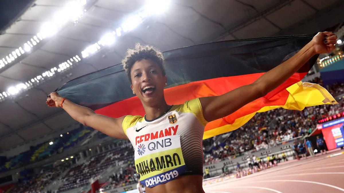Malaika Mihambo ist für die Wahl zur Welt-Leichtathletin nominiert