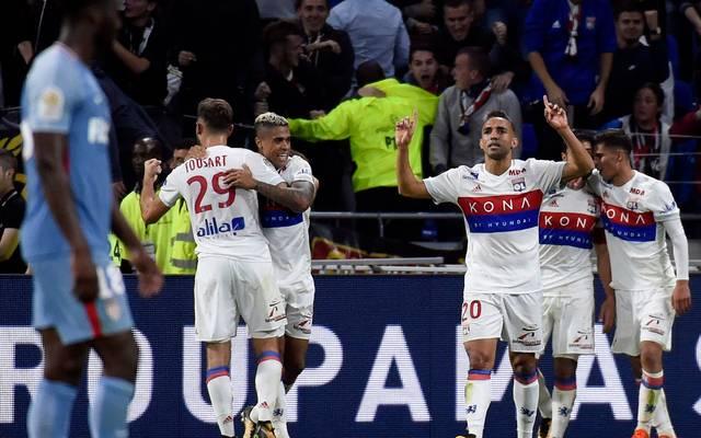 Nabil Fekir war bei Lyons Sieg gegen Monaco der umjubelte Mann