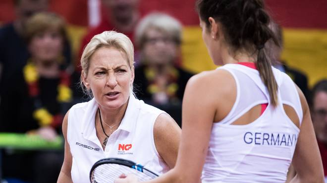 Germany v Ukraine - FedCup World Group Play-Off