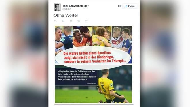 Tobias Schweinsteiger Bastian Schweinsteiger Sebastian Kehl Montage