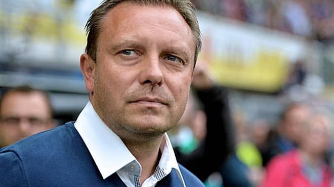 Trainer Andre Breitenreiter führte Paderborn in die Bundesliga