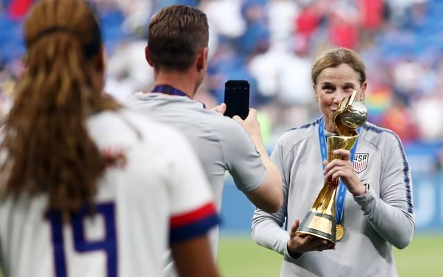 Jill Ellis war seit 2014 Trainerin der US-Frauen
