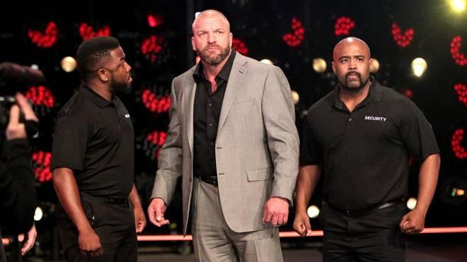Triple H (M.) wurde bei WWE NXT TakeOver: San Antonio von Seth Rollins herausgefordert