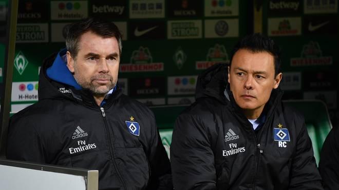 Rodolfo Cardoso (r.) wurde im März 2018 gemeinsam mit Bernd Hollerbach beurlaubt