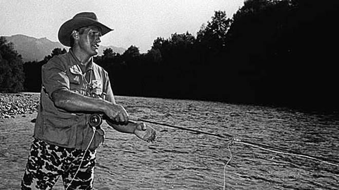 Hans Zach ist seit Jahrzehnten leidenschaftlicher Angler