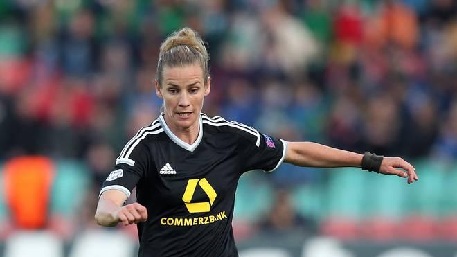 Simone Laudehr muss mit Frankfurt gegen die Bayern ran