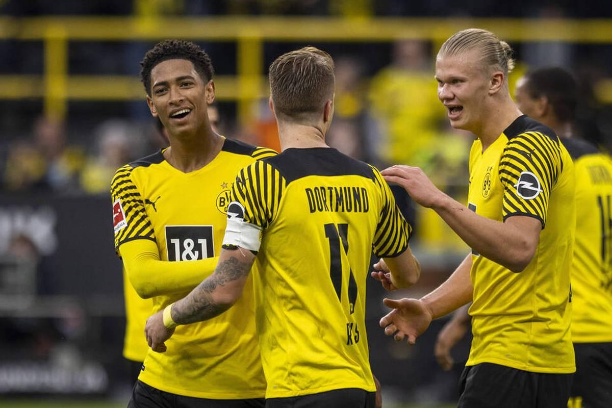 Ein Kapitän, der marschiert und Tore macht. Ein junger Superstar, der auch hinten mit aushilft. Und ein Youngster, der sich bis zur Erschöpfung für den Klub aufopfert. Ein BVB-Trio begeistert.