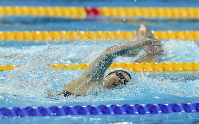 Sarah Köhler wurde über 400 m Freistil nur Siebte