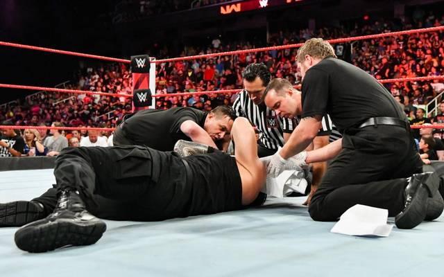 Roman Reigns wurde vor dem WWE SummerSlam 2018 von Brock Lesnar attackiert