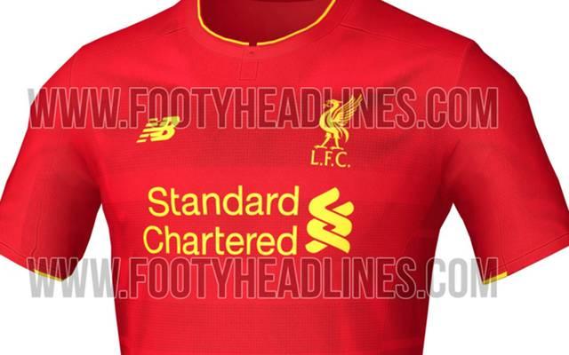 So könnte das neue Trikot des FC Liverpool aussehen