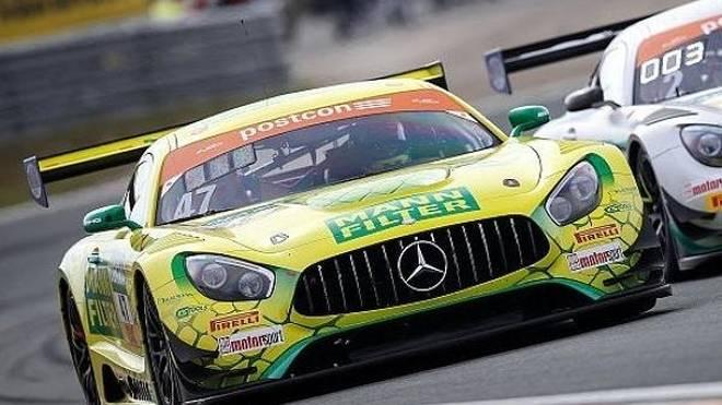 Bestzeit im zweiten Training für den Mercedes-AMG von HTP Racing