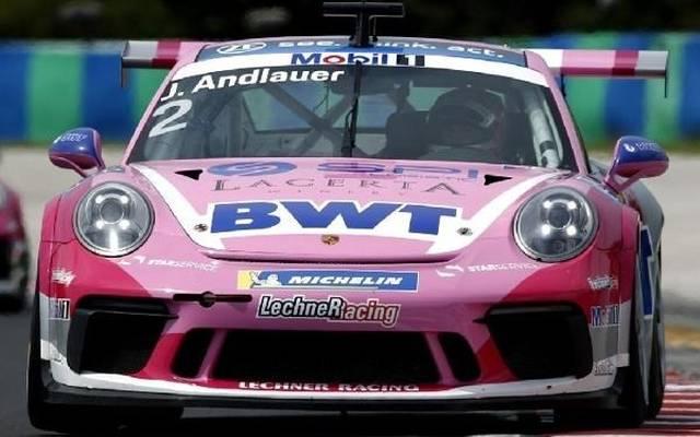 Julien Andlauer hat eine perfekte Ausgangsposition für das Rennen