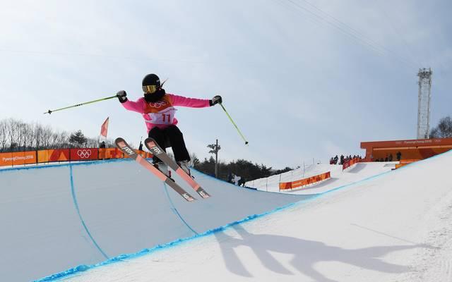 Sabrina Cakmakli war als einzige Deutsche Ski-Freestylerin in der Halfpipe am Start