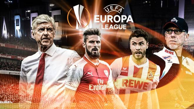 FC Arsenal vs. 1. FC Köln Europa League 2017 LIVE