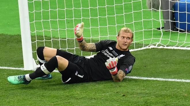 Liverpools Torwart Loris Karius verschuldete gegen Real zwei Tore