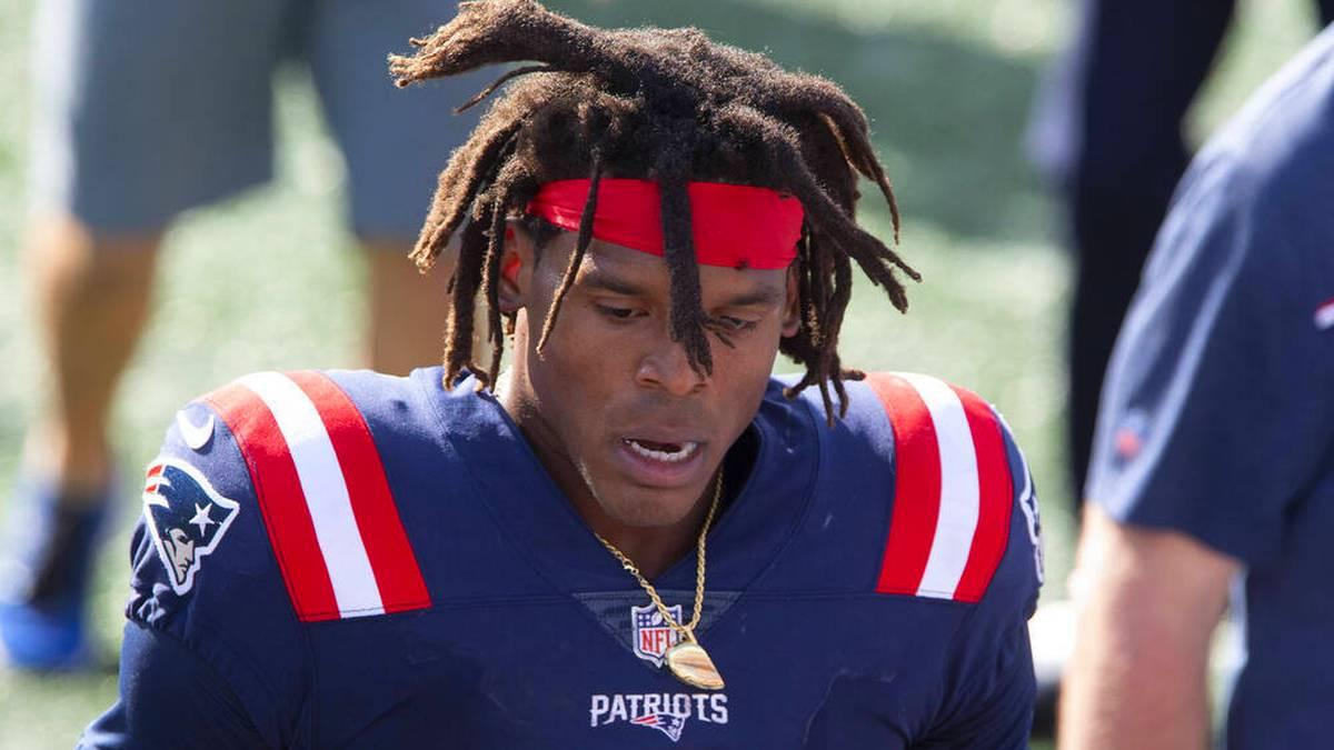 Cam Newton von den New England Patriots wurde laut einem Medienbericht positiv auf Corona getestet