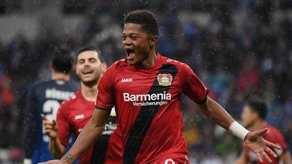 Leon Bailey soll auf dem Wunschzettel des FC Bayern stehen