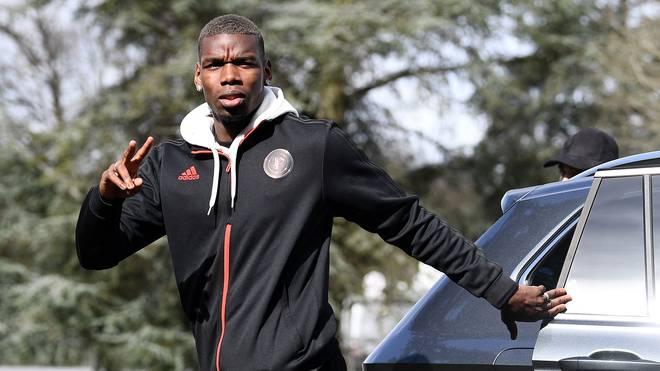 Paul Pogba steht bei Manchester United bis 2021 unter Vertrag