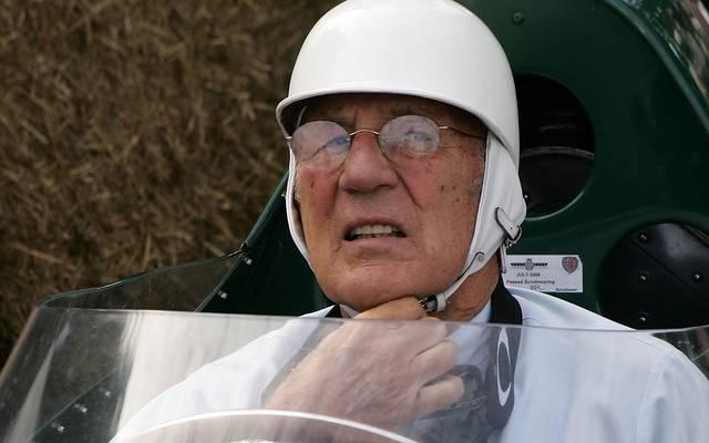 Sterling Moss hat 16 GP-Rennen gewonnen