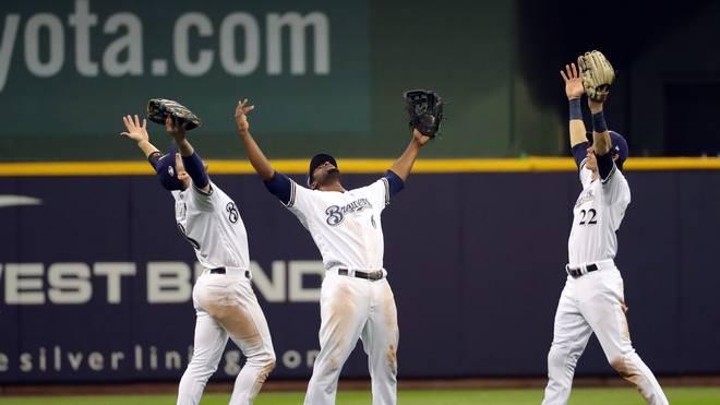Die Milwaukee Brewers wahren ihre Final-Chancen