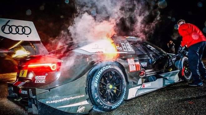DTM-Champion Rene Rast feiert in seiner Heimat