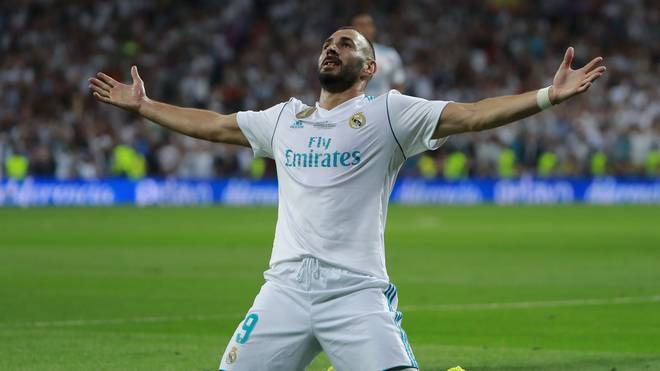 Karim Benzema hat seinen Vertrag bei Real Madrid bis 2021 verlängert