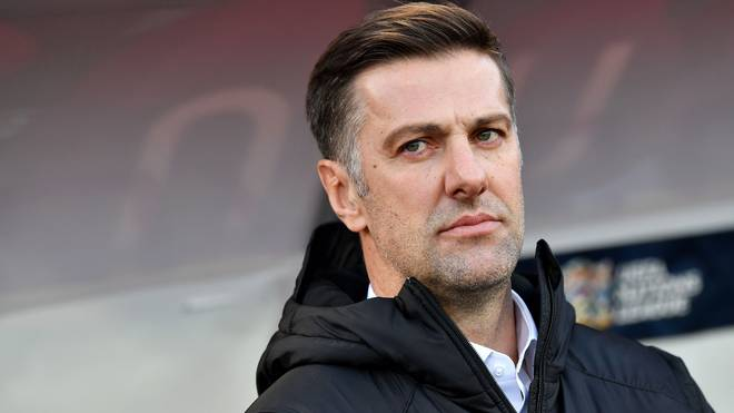 Mladen Krstajic ist seit 2017 Nationaltrainer Serbiens